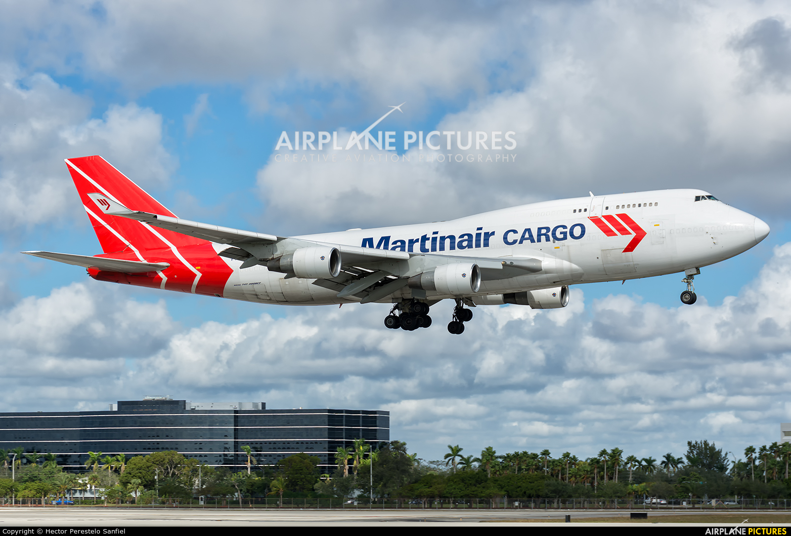 Martinair Cargo PH-MPS aircraft at Miami Intl