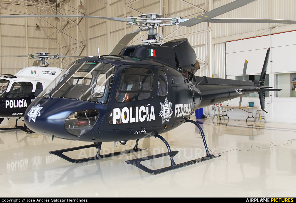 Mexico - Police PF-303 aircraft at Off Airport - Mexico