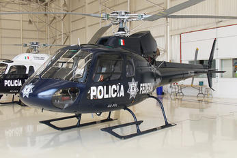 PF-303 - Mexico - Police Aerospatiale AS350 Ecureuil / Squirrel