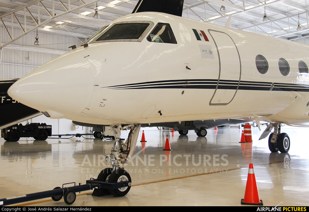 Mexico - Police XC-PFM aircraft at Mexico City - Licenciado Benito Juarez Intl