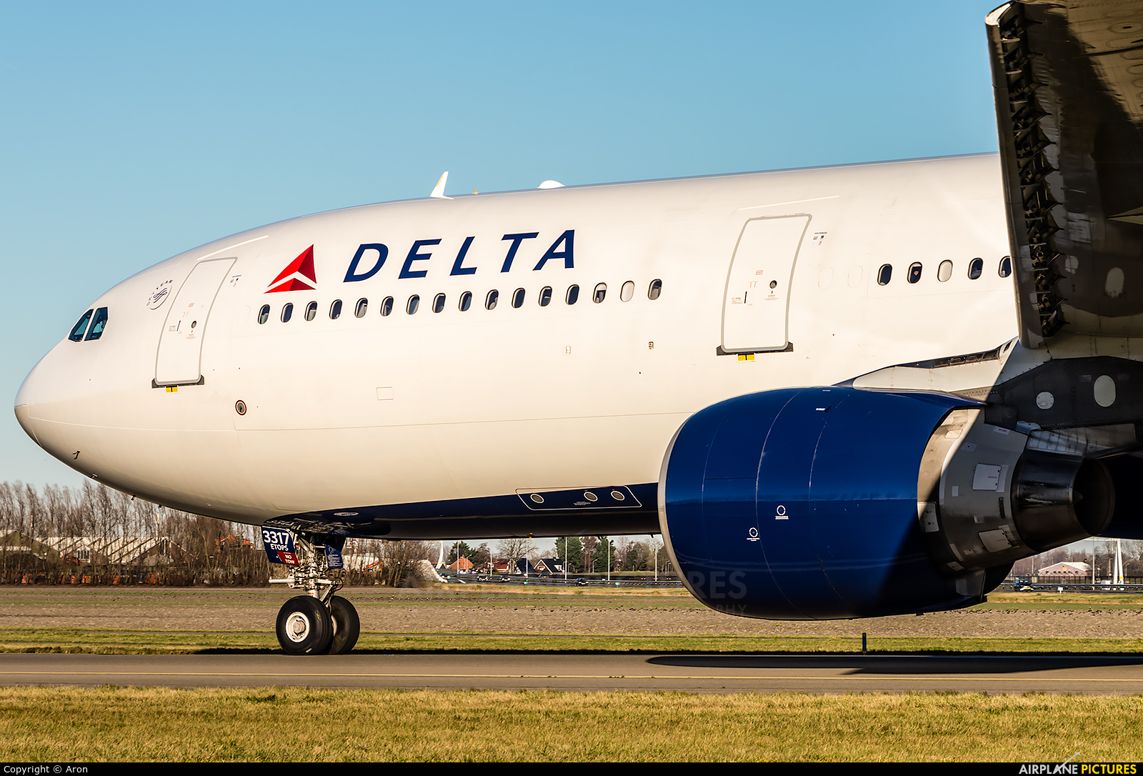 Delta Air Lines N817NW aircraft at Amsterdam - Schiphol