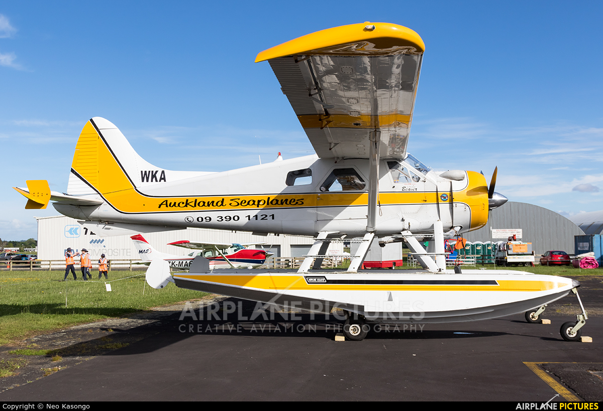 Auckland Seaplanes ZK-WKA aircraft at Ardmore