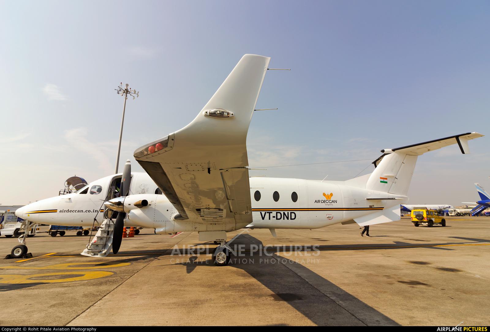 Air Deccan VT-DND aircraft at Mumbai - Chhatrapati Shivaji Intl