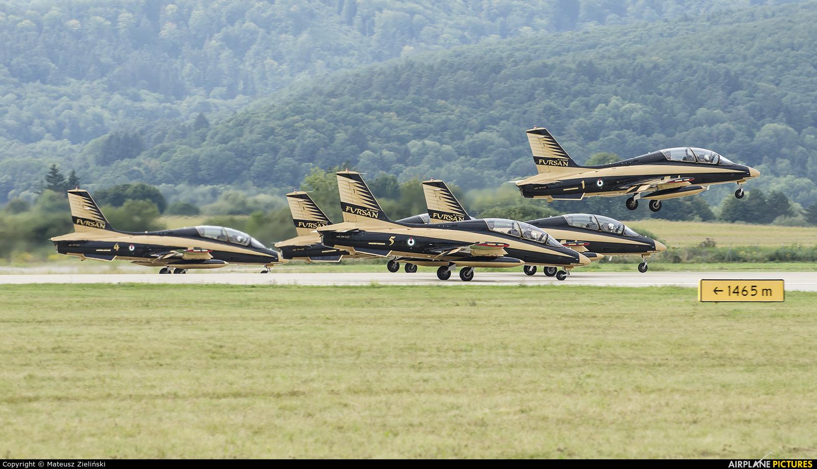 "United Arab Emirates - Air Force ""Al Fursan"" 440 aircraft at Sliač"