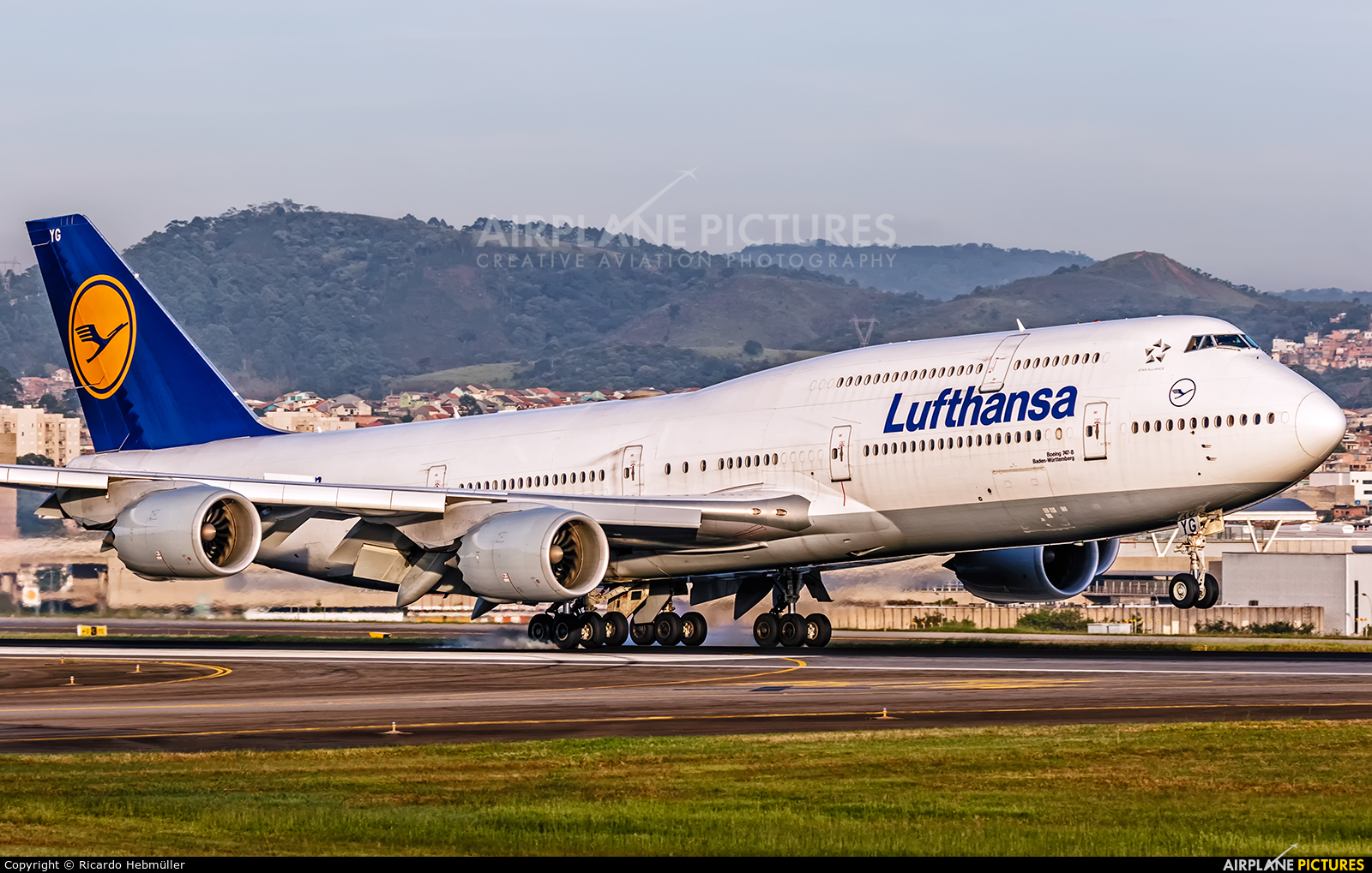 Lufthansa D-ABYG aircraft at São Paulo - Guarulhos
