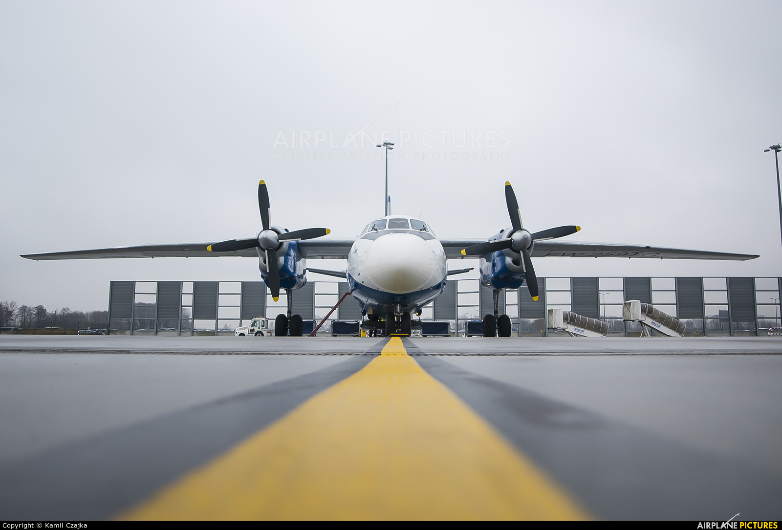 Genex EW-259TG aircraft at Wrocław - Copernicus