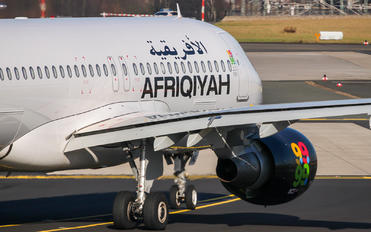5A-ONL - Afriqiyah Airways Airbus A320