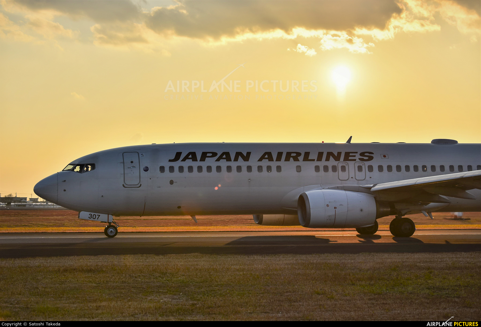 JAL - Japan Airlines JA307J aircraft at Kōchi