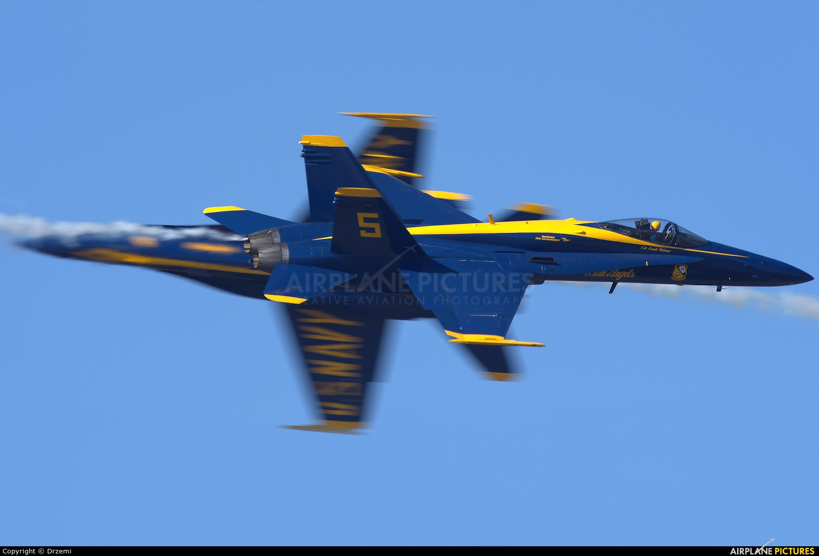 USA - Navy : Blue Angels 163462 aircraft at Pensacola - NAS / Forrest Sherman Field