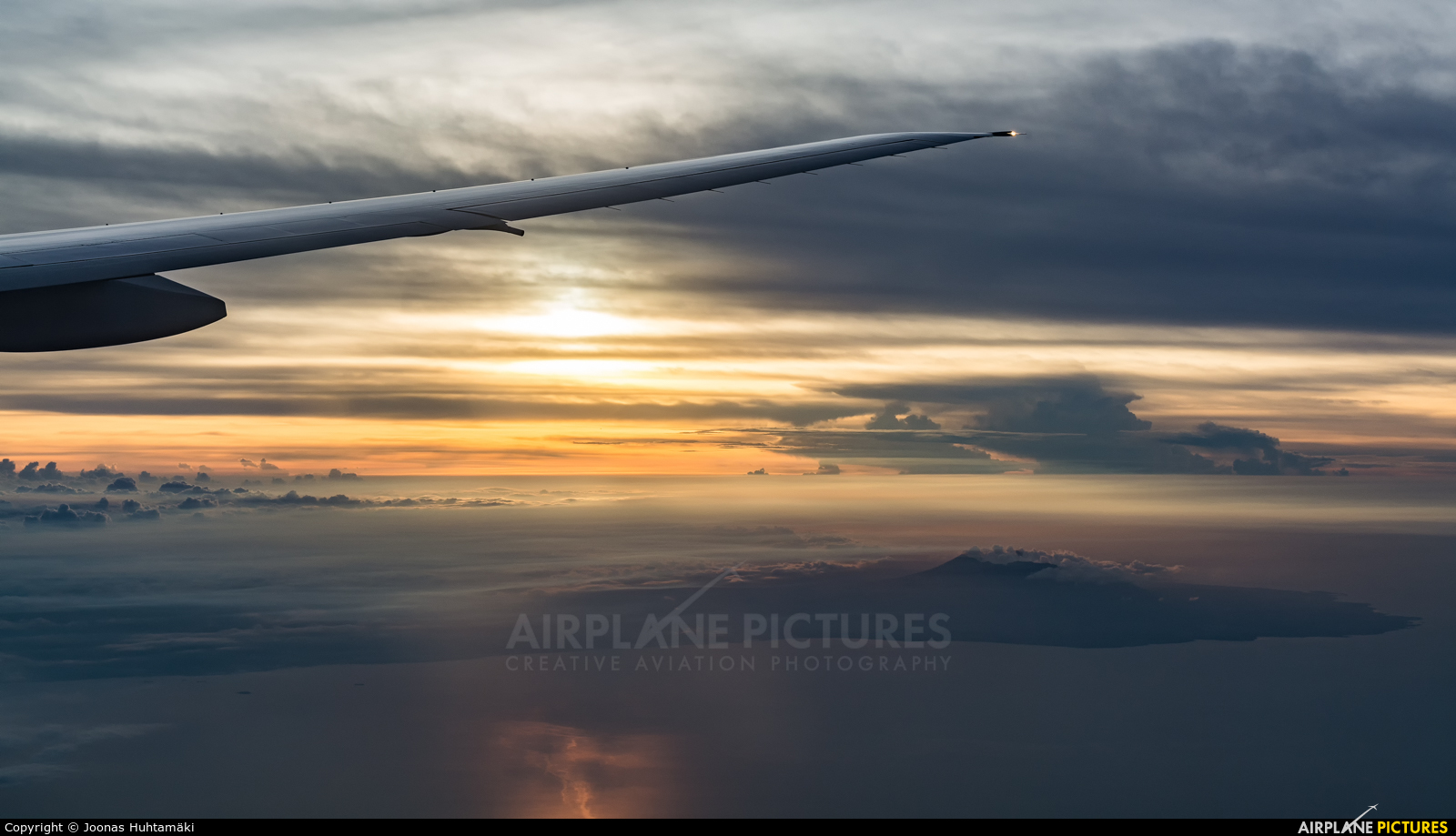 Cathay Pacific - aircraft at In Flight - Indonesia