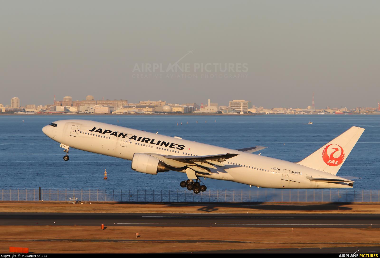 JAL - Japan Airlines JA8979 aircraft at Tokyo - Haneda Intl