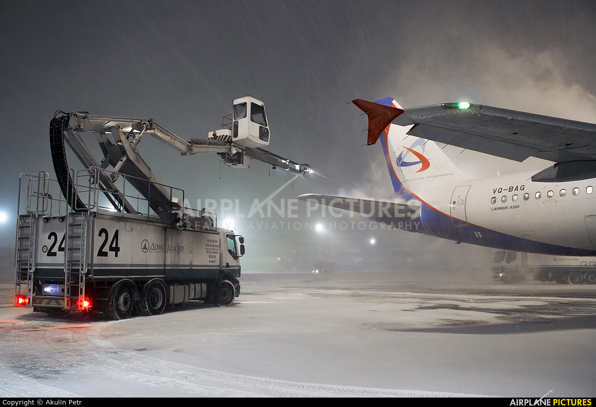 Ural Airlines VQ-BAG aircraft at Moscow - Domodedovo