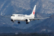 JA342J - JAL - Japan Airlines Boeing 737-800 aircraft