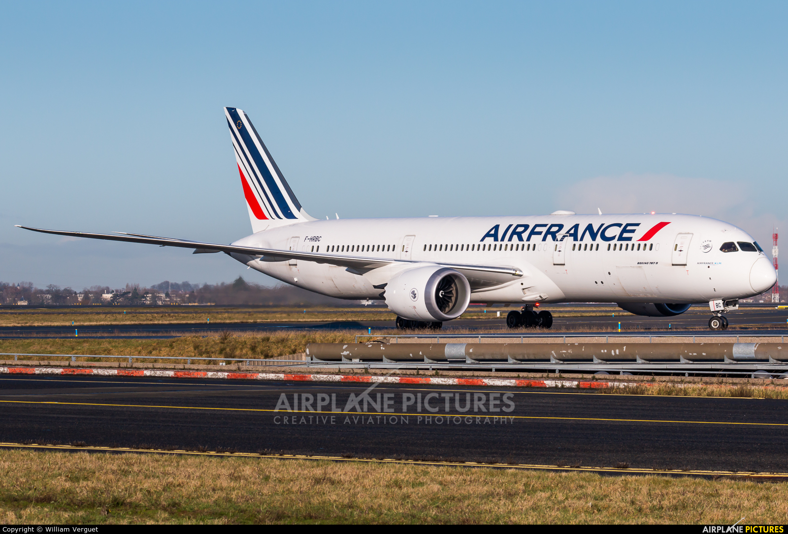Air France F-HRBC aircraft at Paris - Charles de Gaulle