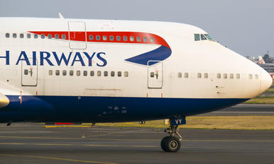 G-CIVY - British Airways Boeing 747-400