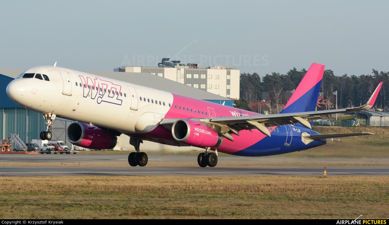 Wizz Air HA-LXK aircraft at Gdańsk - Lech Wałęsa
