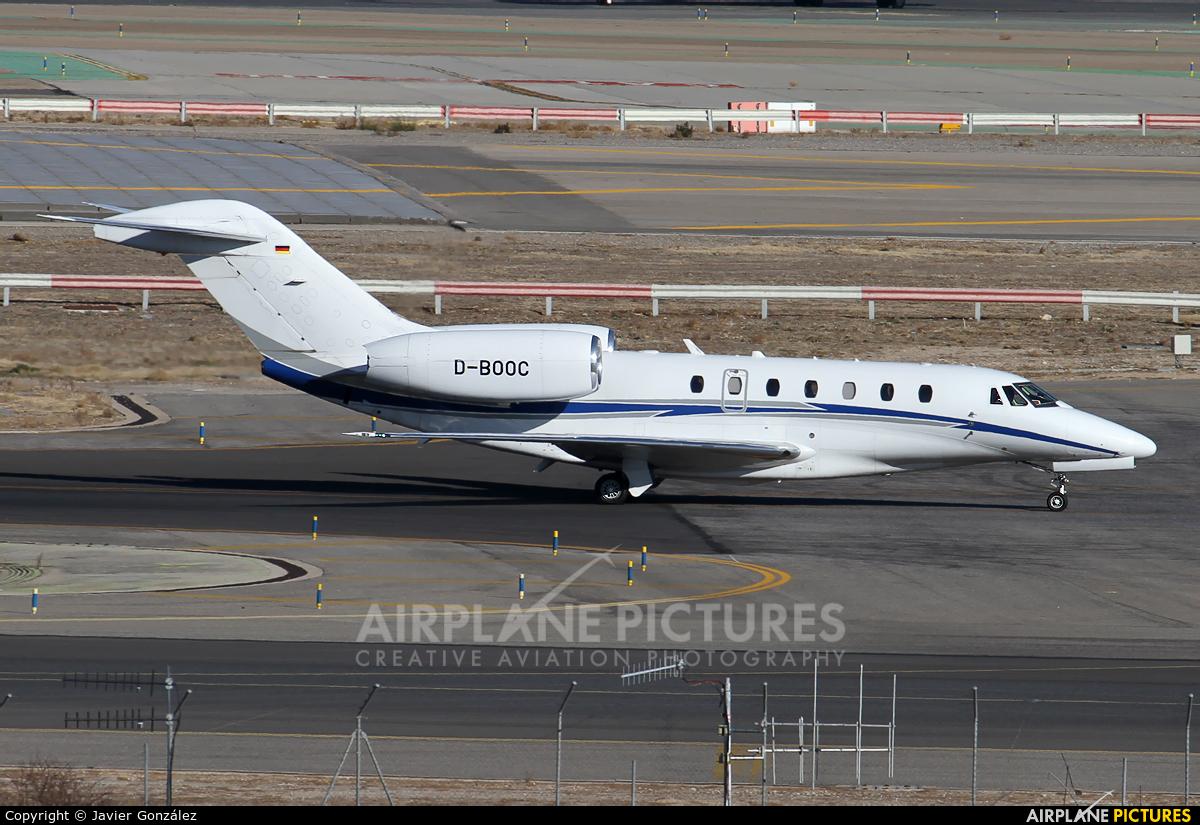 Air X D-BOOC aircraft at Madrid - Barajas