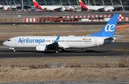 EC-MQP - Air Europa Boeing 737-800 aircraft