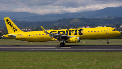 N669NK - Spirit Airlines Airbus A321