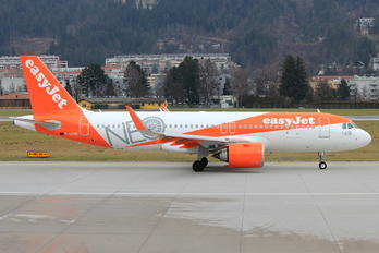 G-UZHC - easyJet Airbus A320 NEO