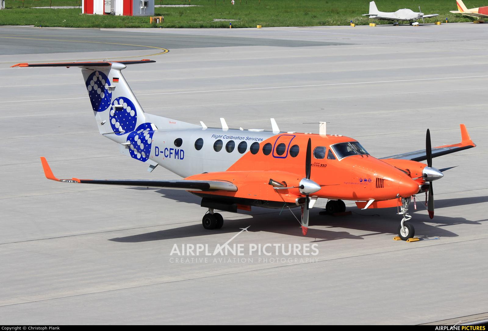 Flight Calibration Services D-CFMD aircraft at Innsbruck