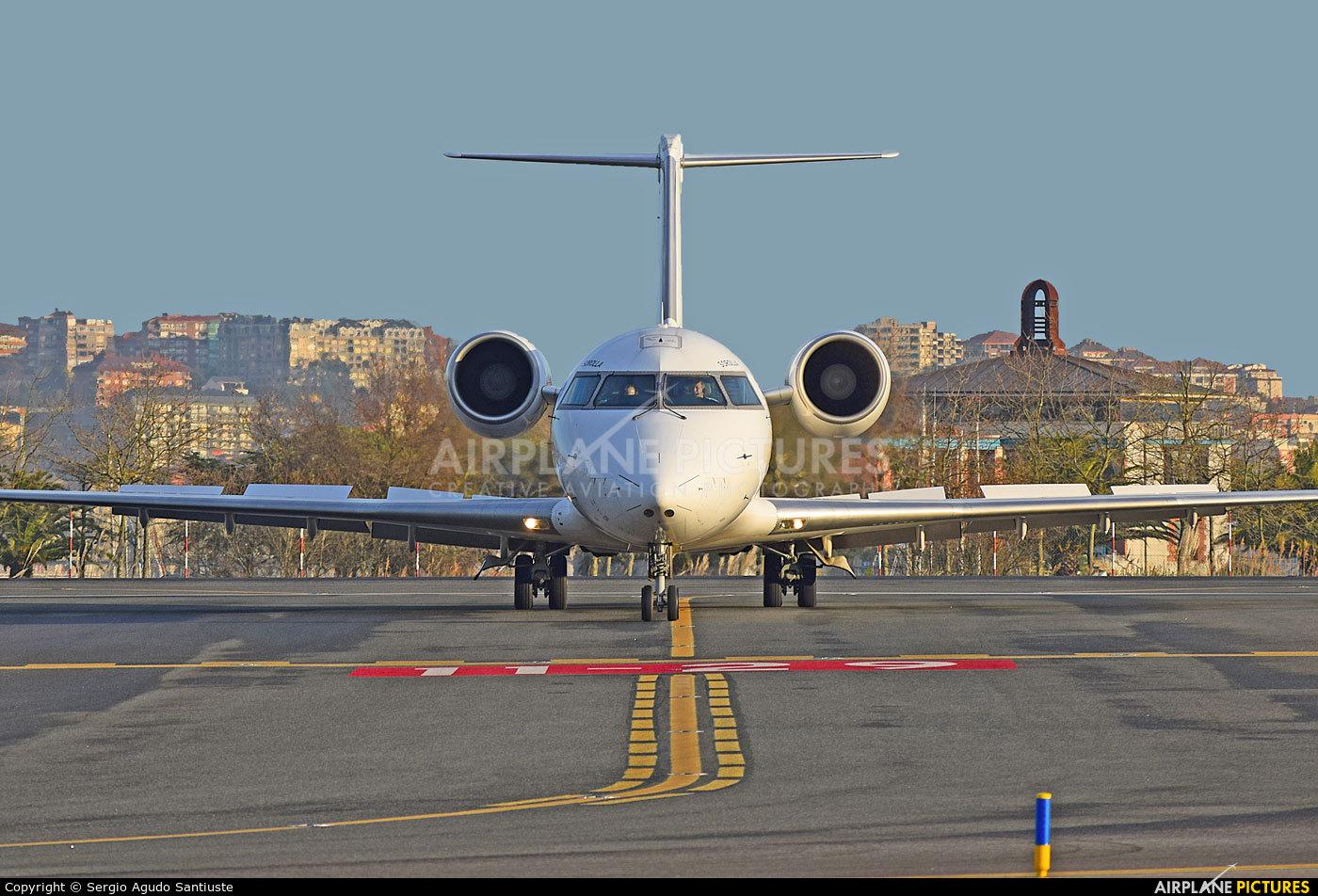 Air Nostrum - Iberia Regional EC-MNB aircraft at Santander