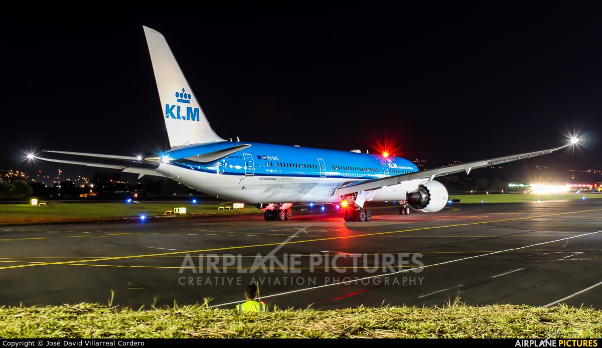 KLM PH-BHC aircraft at San Jose - Juan Santamaría Intl
