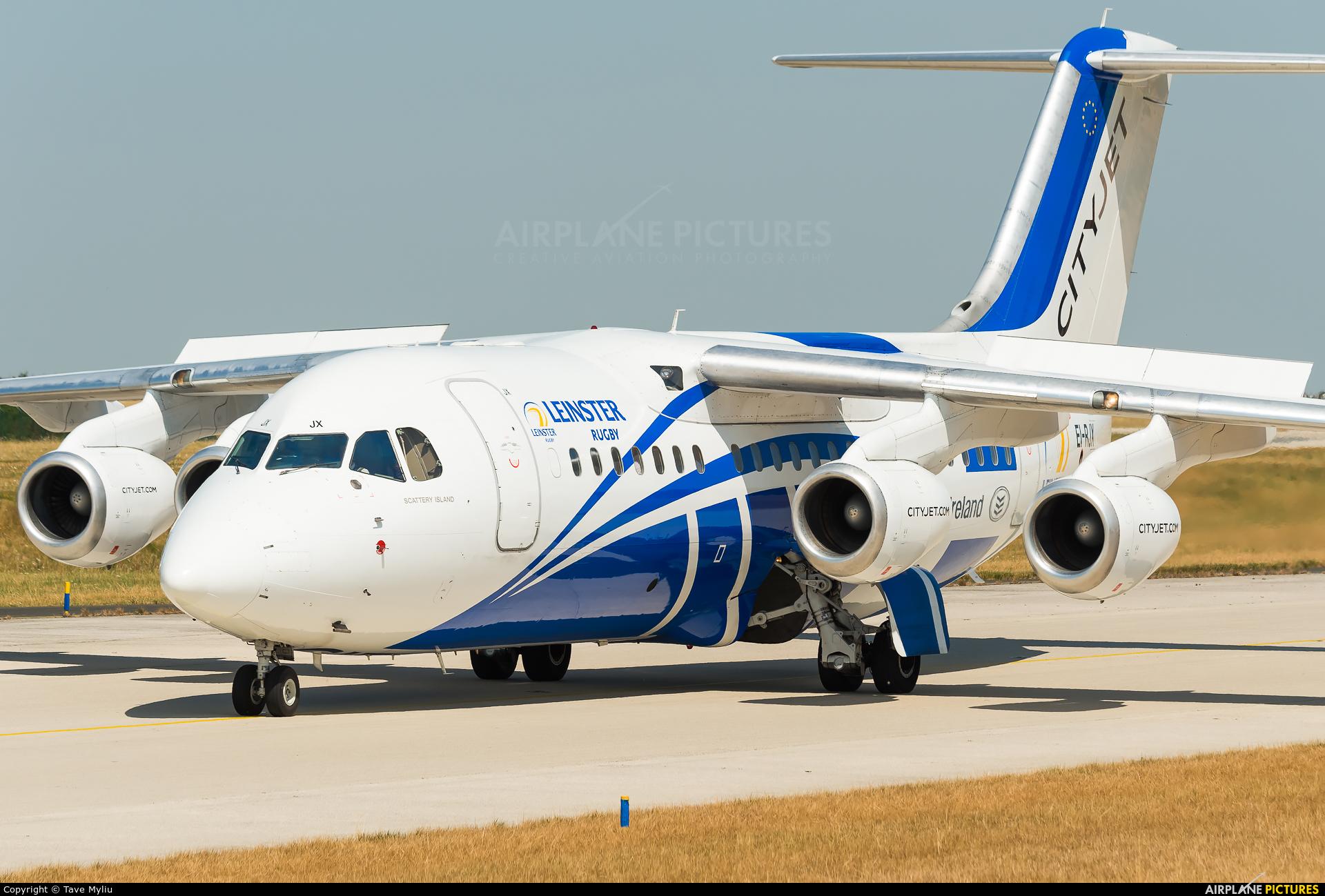 CityJet EI-RJX aircraft at Paris - Charles de Gaulle