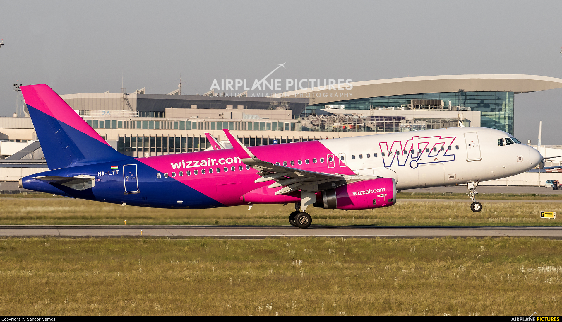 Wizz Air HA-LYT aircraft at Budapest Ferenc Liszt International Airport