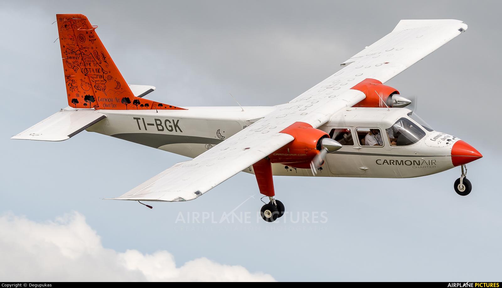Carmonair TI-BGK aircraft at San Jose - Juan Santamaría Intl