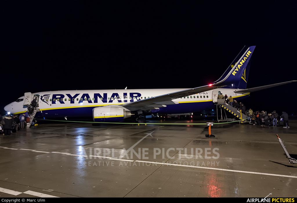 Ryanair EI-DLG aircraft at Memmingen