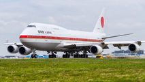 20-1101 - Japan - Air Self Defence Force Boeing 747-400 aircraft
