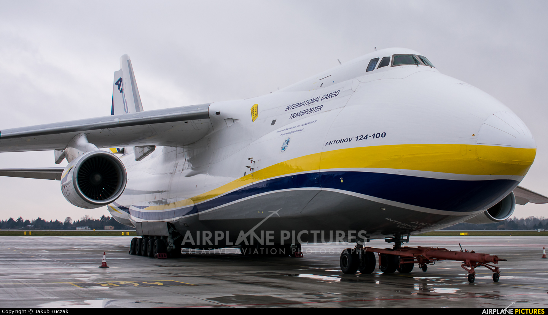 Antonov Airlines /  Design Bureau UR-82073 aircraft at Warsaw - Frederic Chopin