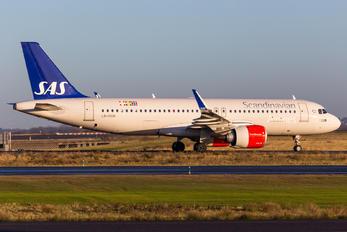 LN-RGM - SAS - Scandinavian Airlines Airbus A320 NEO