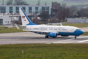 USAF Boeing C-40 Clipper arrived to Zurich with security delegation onboard title=