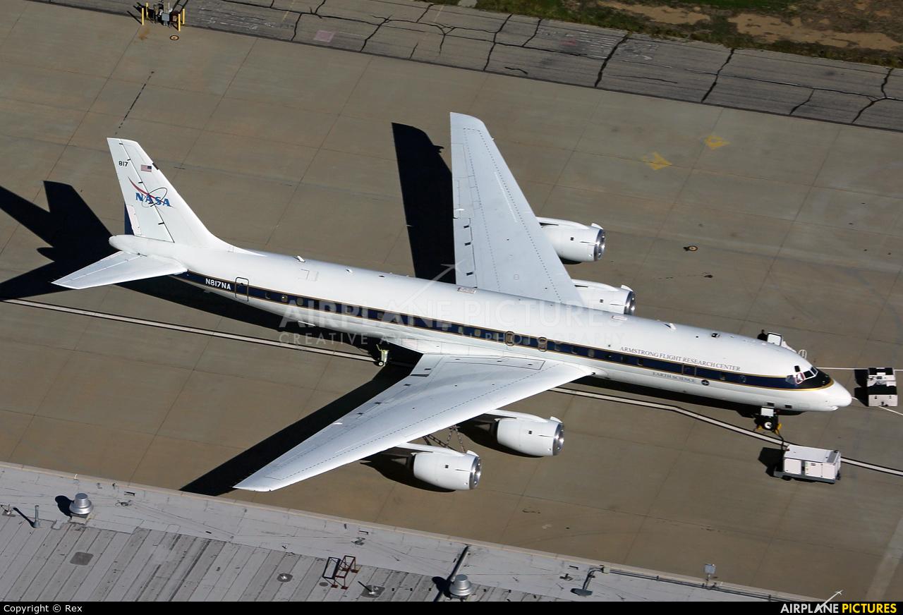 NASA N817NA aircraft at Palmdale Regional
