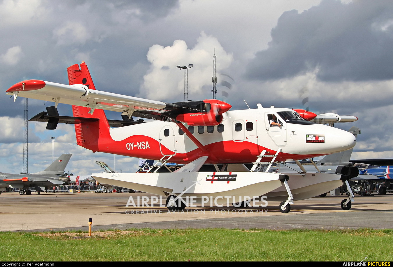 Nordic Seaplanes OY-NSA aircraft at Copenhagen Roskilde