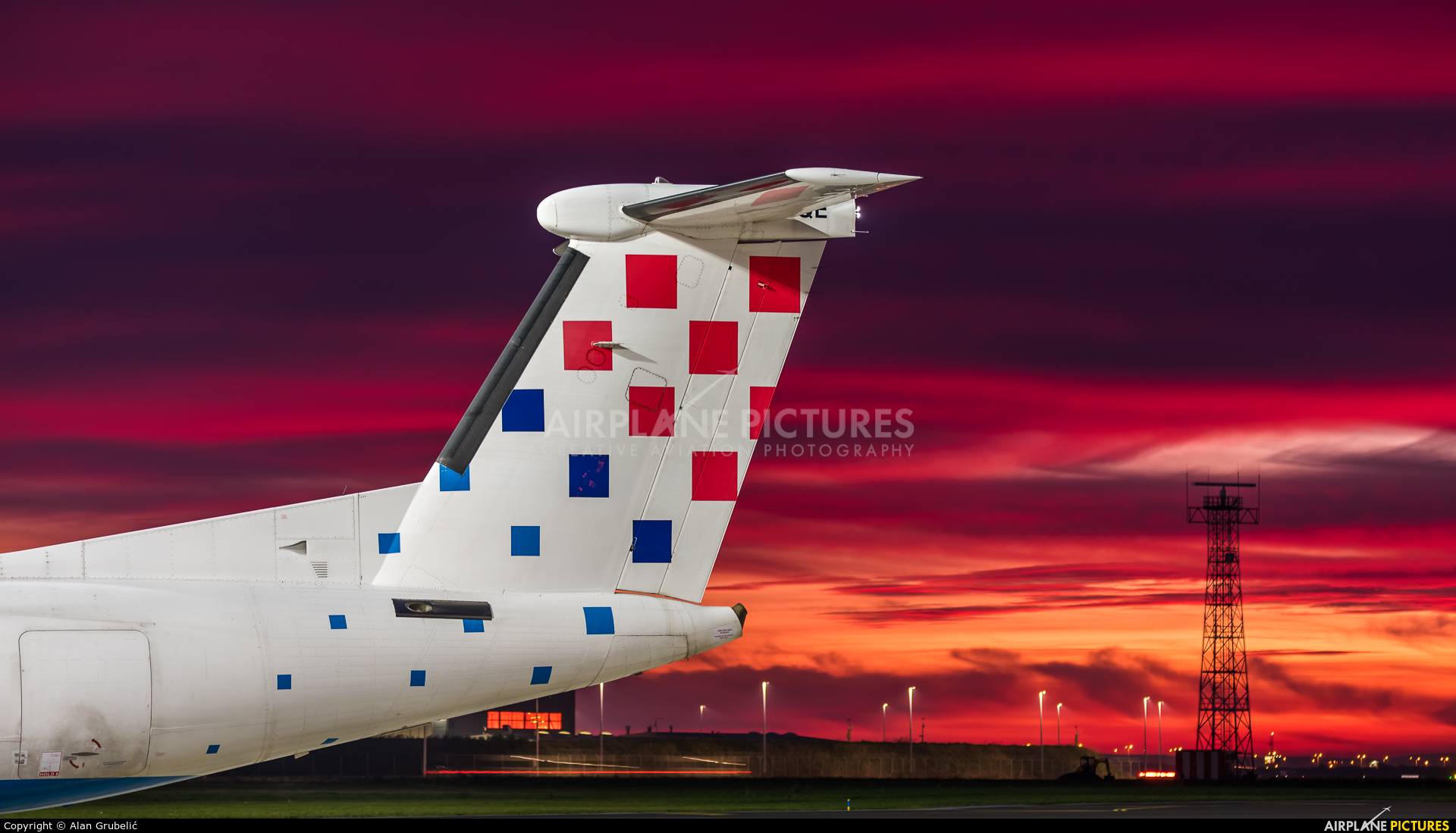 Croatia Airlines 9A-CQE aircraft at Zagreb