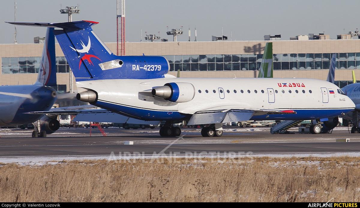 Izhavia RA-42379 aircraft at Moscow - Domodedovo