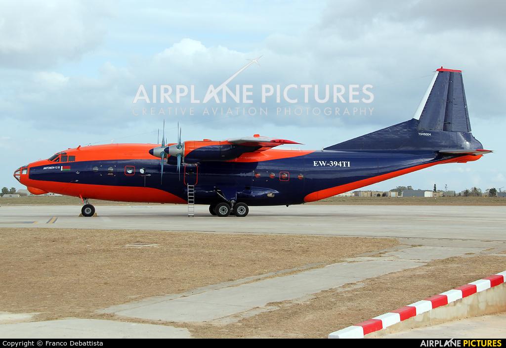 Ruby Star Air Enterprise EW-394TI aircraft at Malta Intl