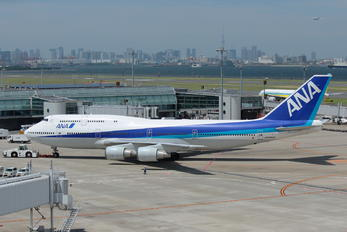 JA8966 - ANA - All Nippon Airways Boeing 747-400D