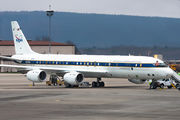 NASA Douglas DC-8 visits Ramstein Air Base title=