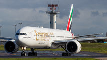 A6-ENT - Emirates Airlines Boeing 777-300ER aircraft