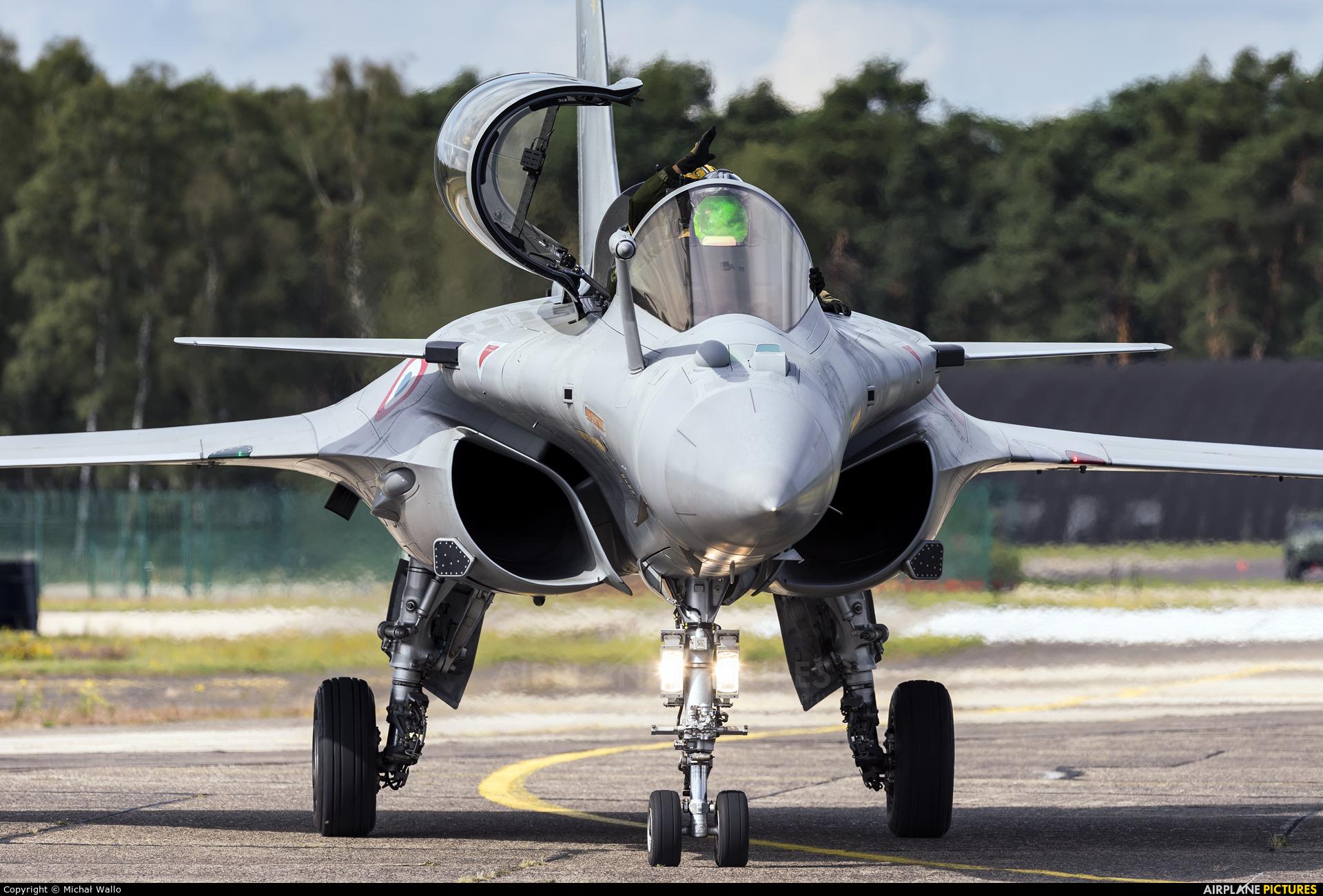 France - Air Force 4-HO aircraft at Kleine Brogel