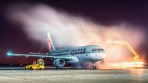 A7-AHC - Qatar Airways Airbus A320 aircraft