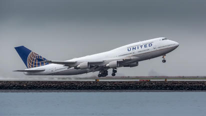 N119UA - United Airlines Boeing 747-400