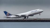 N119UA - United Airlines Boeing 747-400 aircraft