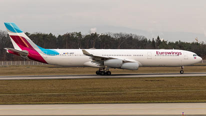 D-AIGY - Eurowings Airbus A340-300