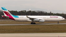 D-AIGY - Eurowings Airbus A340-300 aircraft