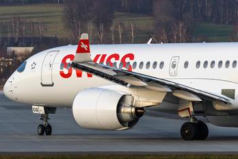 HB-JCG - Swiss Bombardier CS300